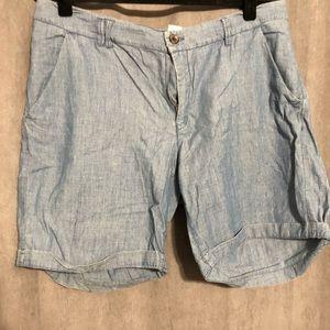 LOGO Shorts blue size 14